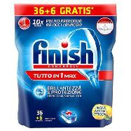 finish tabs tutto in 1 lemon pz36+6