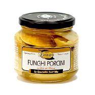 inpa lusinghe funghi porcini tagliati  in olio di oliva gr.280