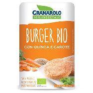granarolo burger quinoa/carote gr.90x2