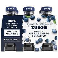 zuegg succo mirtillo nero selvatico  ml.125x6