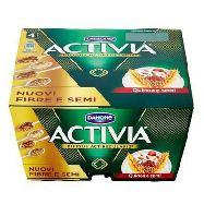danone yogurt activia fibre & quinoa gr.125x4