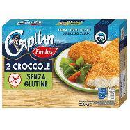 findus 2 croccole filetti di merluzzo senza glutine gr.250