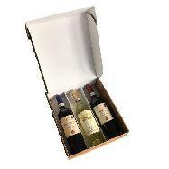 selvi cassetta gianna con chianti, chianti classico e vinsanto cl.75 x 3