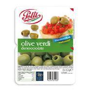 polli olive verdi denocciolate gr.40x2