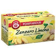 pompadour infuso zenzero e limone per 20 filtri