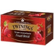 twinings te` four red fruits 25 filtri