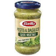 barilla pesto al basilico 100% vegetale gr.195 senza formaggi