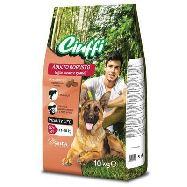 ciuffi croccantini  adult con carne kg.10