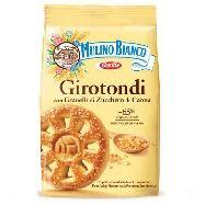 mulino bianco biscotti girotondi  con zucchero di canna gr.350