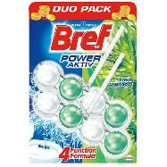 bref wc power activ eucalipto duo-pack