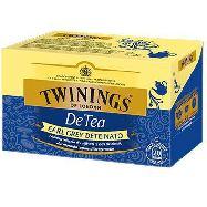 twinings de tea earl grey deteinato 20 filtri