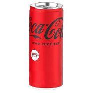 coca cola zero sleek lattina ml.330
