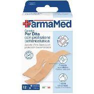 farmamed cerottio per dita con protezione batteriostatica due formati pezzi 12