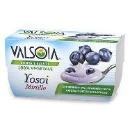 valsoia yosoiyogurt mirtillo gr.125 x2