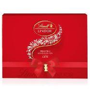 lindt scatola cioccolatini lindor rossi gr. 350