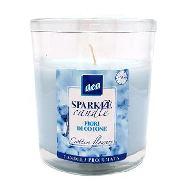 natural care candela fiori di cotone
