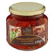 gusto & passione pomodorini secchi di calabria in olio di oliva gr.270