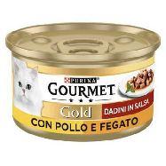 gourmet gold pollo e fegato  gr.85