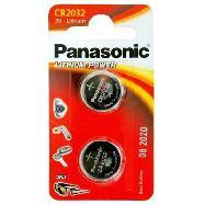 panasonic pila bottone litio cr2032