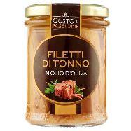 gusto & passione filetti di tonno in olio di oliva gr.180