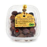 ficacci olive nere greche condite gr.170