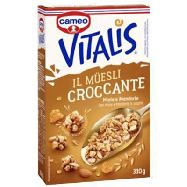 vitalis muesli al miele cioccolato e mandorle tostate  gr.300
