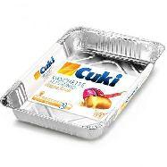 cuki vaschette alluminio 6 porzioni pz.2