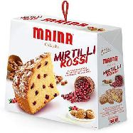 maina colomba mirtilli rossi gr.750