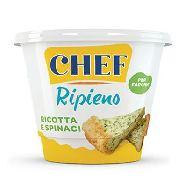 parmalat chef ripieno ricotta/spinaci gr.450