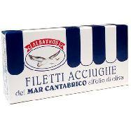 albatros filetti acciughe del mar cantabrico olio di oliva gr.48