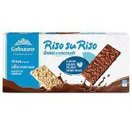 galbusera riso su riso cracker  cioccolato gr.150