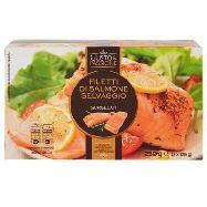 gusto&passione filetti di salmone selvaggio gr.125x2