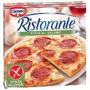 cameo pizza ristorante salame s/glutine gr.310