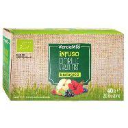 verdemio infusi bio mirtilli/frutti  20 filtri  gr.40