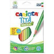 carioca conf 18 pastelli tita triang