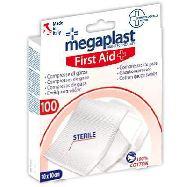 megaplast compressa di garza sterile 10x10 pezzi 100