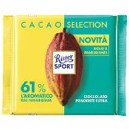 ritter sport cacao selection fond.61%  nicaragua gr.100