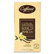 caffarel tavoletta cioccolato  bianco/vaniglia gr.80