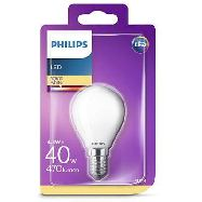 philips lampadina led candela 40w e14 calda a+