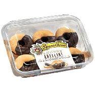 biancoforno anellini con copertura al  cacao gr.200
