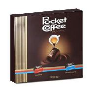 pocket coffee ferrero gr.250 pezzi 20
