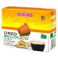 ristora capsule orzo biologico compatibile nespresso 10 capsule