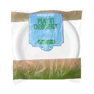 verdemio piatti dessert compostabili eco pz.20