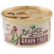 beyond grain free gatto mousse riccadi pollo con fagiolini  gr.85