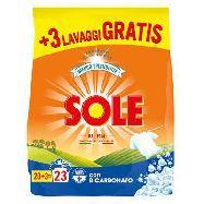sole bianco polvere ricarica lavatrice kg.1,437