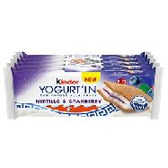 kinder yogurt`in mirtillo gr.28x5
