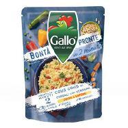 gallo bonta` pronte cous cous con cereali e verdure expresso pronto in 2 minuti gr.220