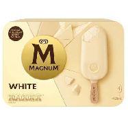 algida magnum white chocolate x4 gr.316