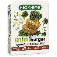 kioene miniburger vegan con broccoli e  kale gr.200