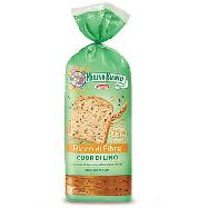 mulino bianco pan bauletto cuor di lino gr.400